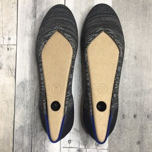 Rothy's Granite Heather Flats - RETIRED COLOR